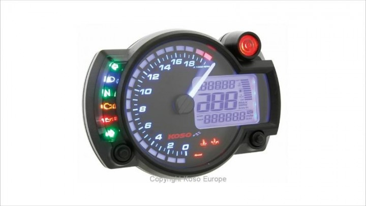 Tachometer Koso RX2N GP Style