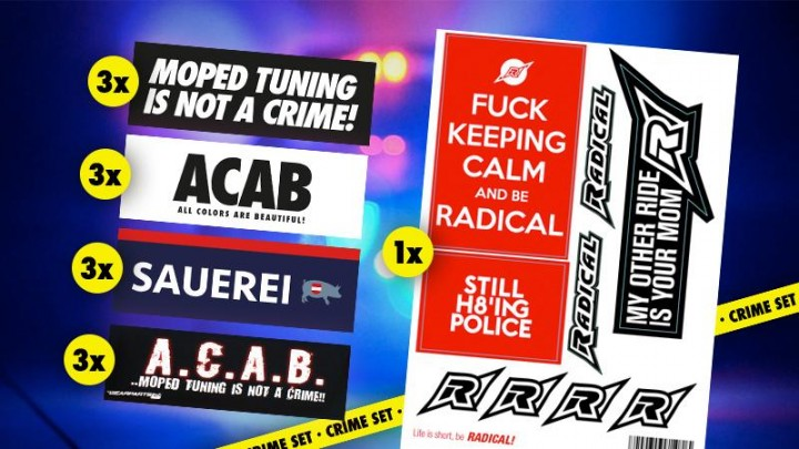 Crime Stickerset