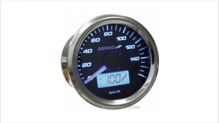 Tachometer Koso D48 GP Style