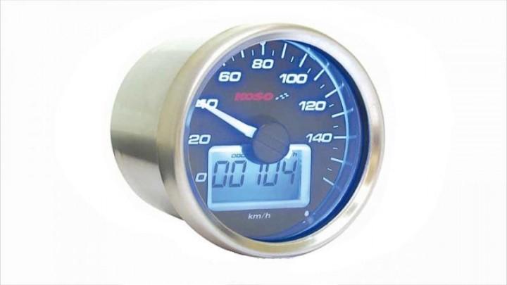 Tachometer Koso D55 GP Style