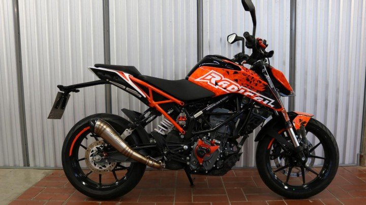 Dekorset Radical Racing Ktm Duke 125 Ab Bj 2017 Versch