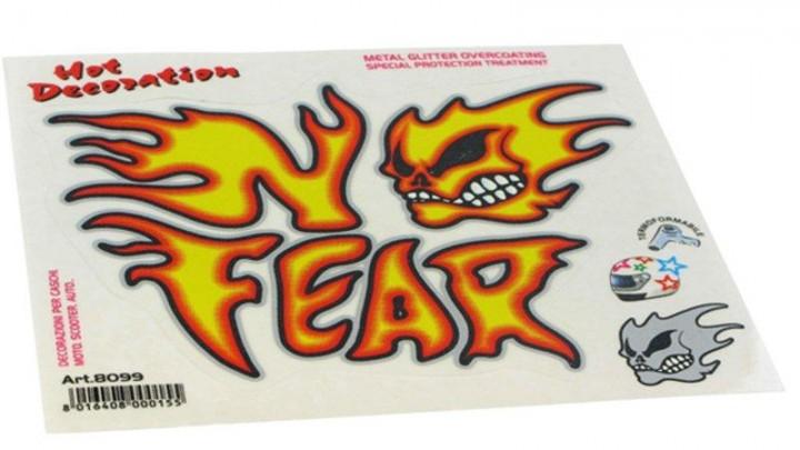Aufkleberset No Fear
