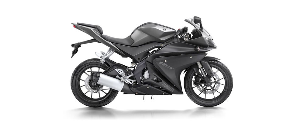 racingscheibe puig yamaha yzf r 125 08 13 schwarz. Black Bedroom Furniture Sets. Home Design Ideas