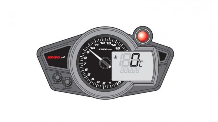 Tachometer Koso RX1NR