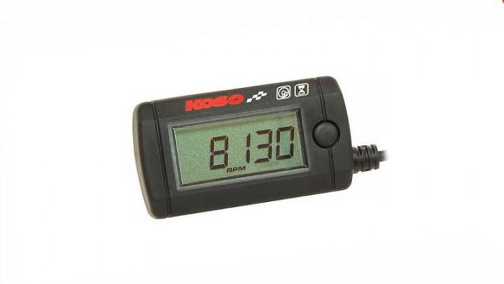 Drehzahl- und Betriebszeitenmesser Koso Mini Style