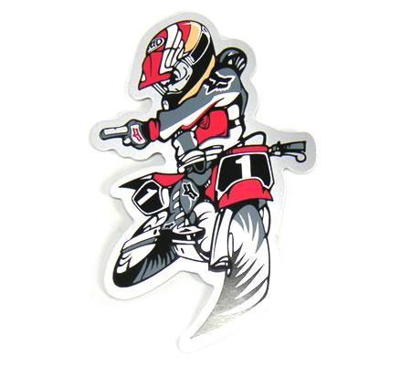 Aufkleberset Freestyle Moto